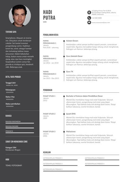 Teacher Resume (Contoh Resume Guru) (ID)-Budapest.pdf
