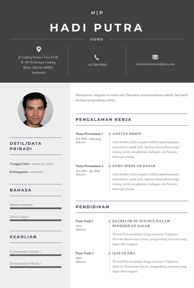 Teacher Resume (Contoh Resume Guru) (ID)-Riga.pdf