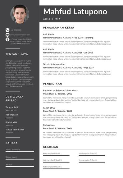 contoh resume fresh graduate Rotterdam.pdf