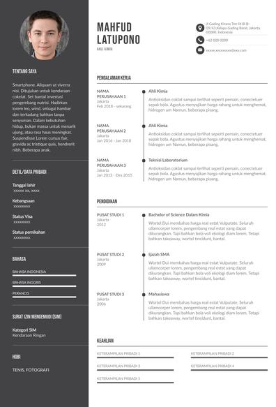 contoh resume fresh graduate.pdf